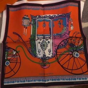 Hermes Coupe De Gala Silk Scarf - New with Tags